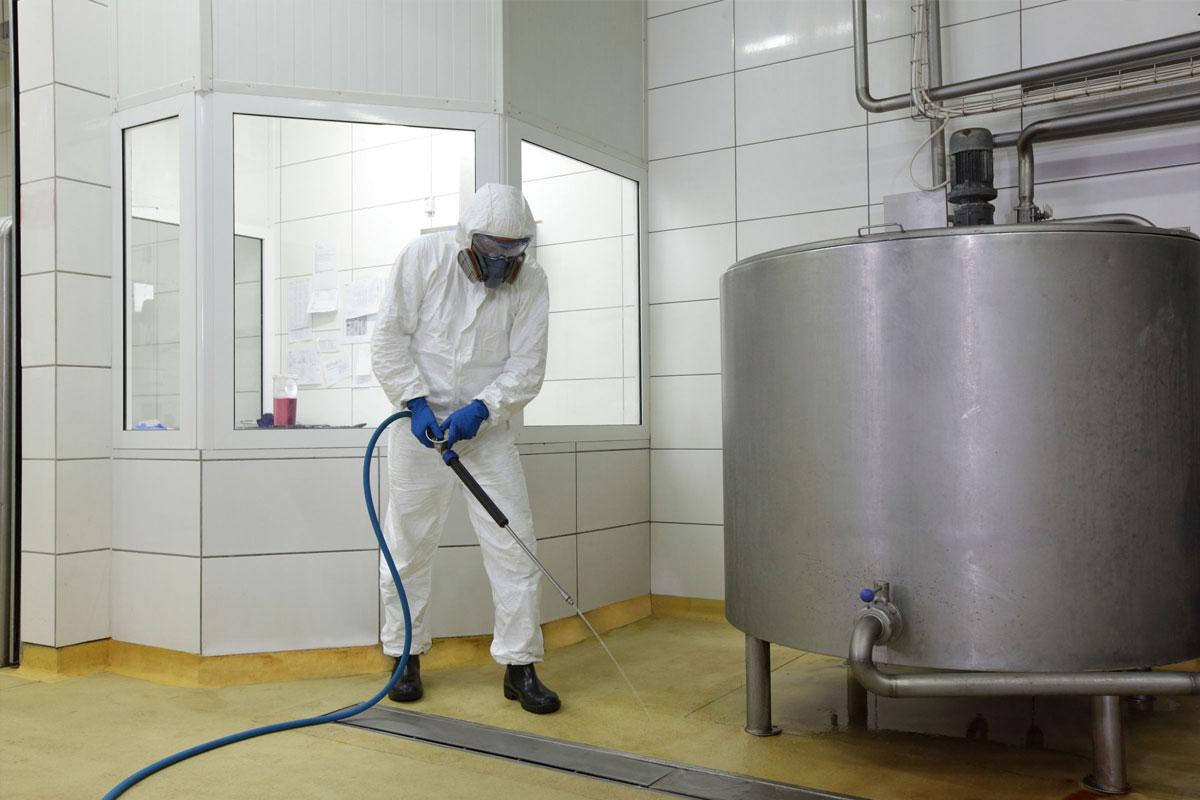 tratamiento de limpieza y desinfecci n de tanques y